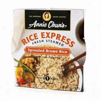 nAnie Chun's All Natural Asian Cuisine, Rice Express Fresh Steamed, Sprouted Brown Rice