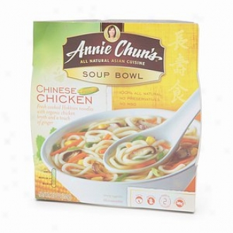 Annie Chun's The whole of Natural Asian Cuisine, Soup Bowl, Chinese Chicken