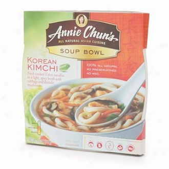 Annie Chun's All Natural Asian Cuisine, Soup Bowl, Korean Kimchi