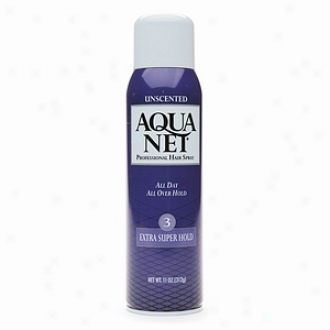 Aqua Net Professional Hair Spray, Extra Super Hold 3 Unscented