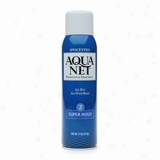 Aqua Net Professional Hair Spray, Super Hold 2 Unscented