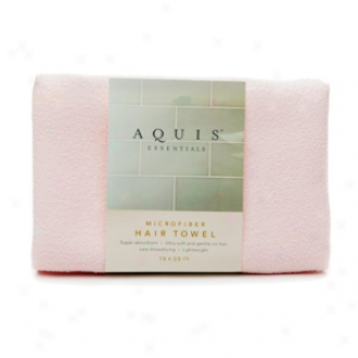 Aquis Microfiber Hair Towel, Large, Pknk