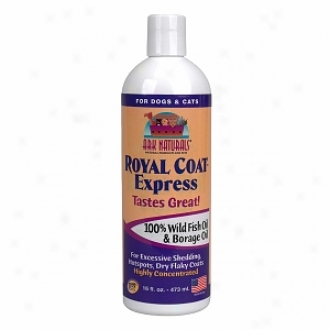 Ark Naturals Royal Coat Express, Wild Fish Oil & Borage Oil For Dogs & Cats