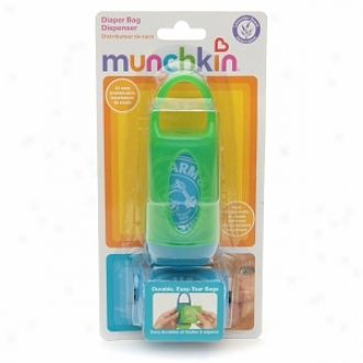Arm & Hammer By Munchkin Diaper Bag Dispenser With Bags, Lavender Scent