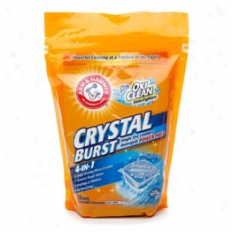 Arm & Hammer rCystal Burst Single Use Laundry Detergent Power Paks