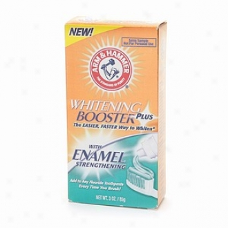 Arm & Hammer Dental Care Whitening Plus Booster With Enamel St5engthening