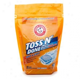 Arm & Hammer Tooss N' Done Single Use Laundry Detergent Power Paks