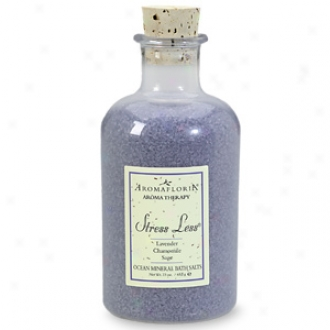 Aromafloria Ocean Mineral Bath Salts, Stress Less