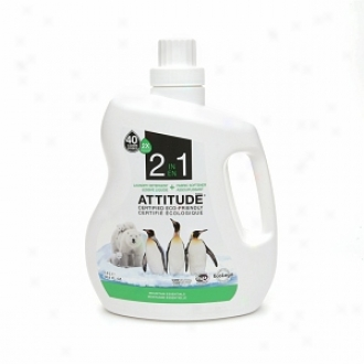 Attitude 2 In 1 Laundry Detergent, 40 Loads, Mountain Essential