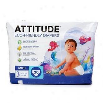 Relation Eco-friendly Baby Diapers, Midi, Size 3, 30 Ea