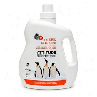 Attitude Laundry Detergent, 40 Loads, Ylang-ylang &tangerine