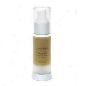 Aubrey Organics Nighttime Hydrator With Green Infusion , Normal Oily And Sensitiev Skin