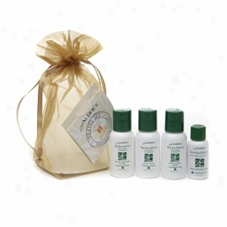 Aubrey Organics Travel Set, Sea Buckthorn / Mixture Dry Skin