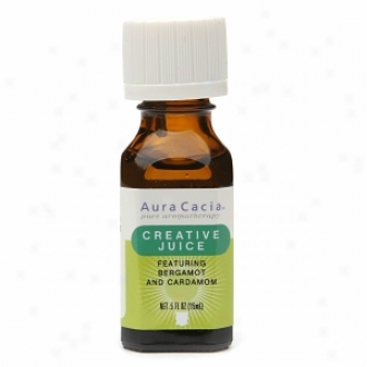 Aura Cacia Pure Aromafherapy Essential Oil, Creative Juice