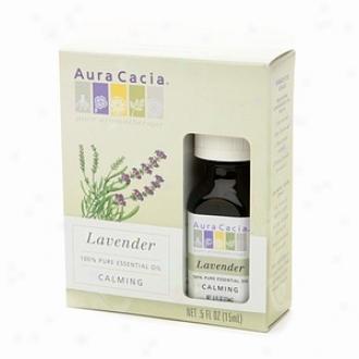 Aura Cacia Pure Essential Oil, Calming Lavender