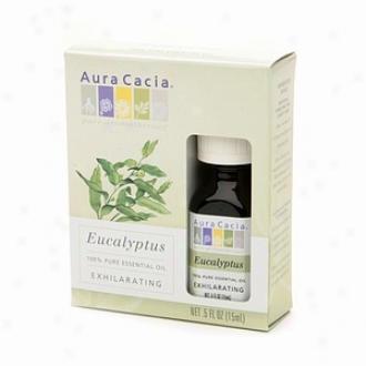 Aura Cacia Pure Essential Oil, Exhilarting Eucalyptus