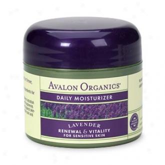 Avalon Organics Diurnal Moisturizer, Therapeutic Lavender