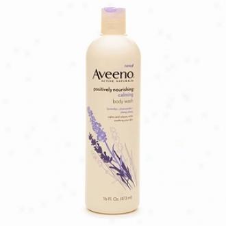 Aveeno Active Naturals Body Wash, Calming Lavnder, Chamomile + Ylang Ylang