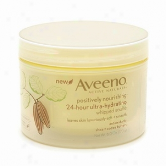 Aveeno Active Naturals Positiveyl Nourishing 24 Hour Ultra-hydrating Whipped Souffle