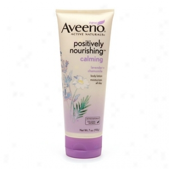 Aveeno Active Naturals Positively Nourishing Body Lotion, Calming Lavender + Chamomile