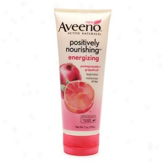 Aveeno Active Naturals Positively Noutishing Body Lotion, Energizing Pomegranate + Grapefruit