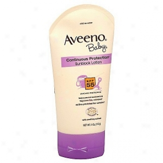 Aveeno Baby Continuous Protection Sunblock Lotion Spf 55