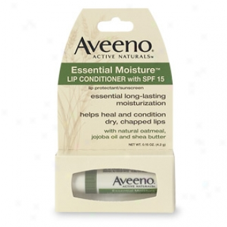 Aveeno Lip Conditioner, Essential Moisture Spf 15