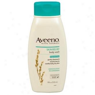 Aveeno Skin Relief Body Wash, Fragrance Free