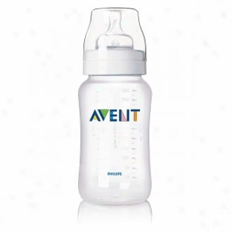 Avent First-rate work  Feeding Bottle With Variable Flow Nipple, 11oz
