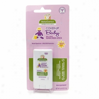 Babyganics Cover Up Baby Sunscreen Stick Spf 50, Fragrance Free