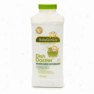 Babyganics Dish Dazzler Dishwasher Detergent, Fragrance Free
