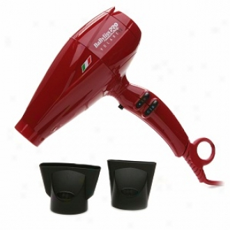 Babyliss Pro Nano Titanium Volare V1 Ferrari Professionaal Luxury Dryer, Red