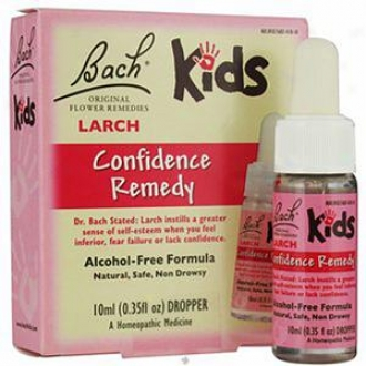 Bach Kids Original Floqer Remedies, Larch Confidence Remedy