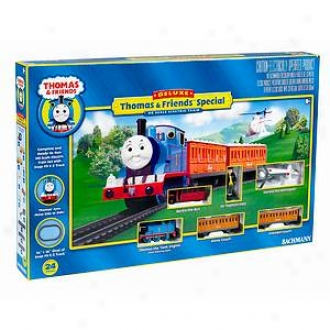 Bachmann Trains Deluxe Thomas The Tank Ho Scale Electric Train Set