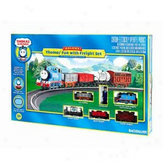 Bachmann Trains Thomas' Fun With Freight Ho Scaleelectric Train Set