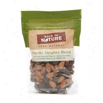 Back To Nature Pacific Heights Mingle: Sea Salt Roasted Almond, Dark Chocolate Covered Almonds, And Cherries