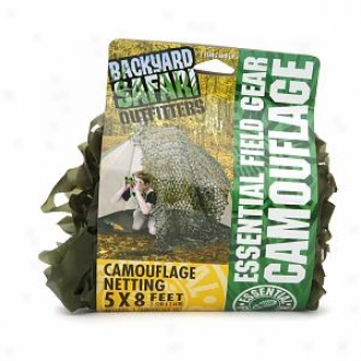Backyard Safari Essential Field Gear Camouflage, Ages 5+, Forest Green