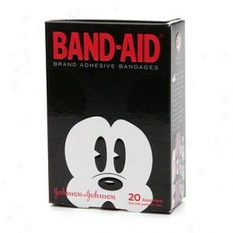 Band-aid - Children's Adhesive Bandages, Disney Mickey Mouse, Assored Sizes