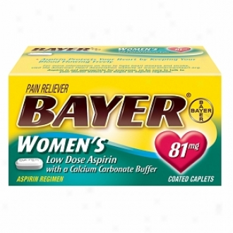 Bayer Women's Low Dose Aspirin With A Calcium Carbonate Buffer, Coated Tablets
