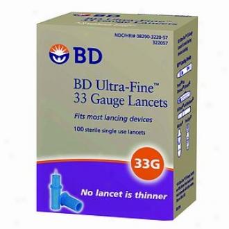 Bd Ultra-fine 33 Lancets