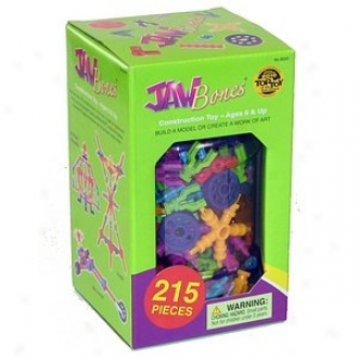 Be Good Company Jawbones Structure Toy 215 Pekce Set Ages 6+