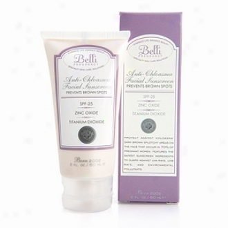Belli Anti-chloasma Facial Sunscreen, Tinted Protection Spf 25