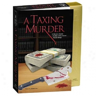 Bepuzzled A Taxing Murder Mystery Jigsaw Puzzle: 1000 Pcs Ages 15 Ad Up