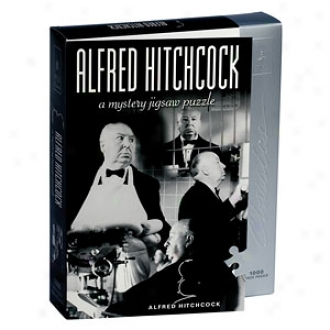 Bepuzzled Alfred Hitchcock Mystery Jigsaw Puzzle Ages 12+
