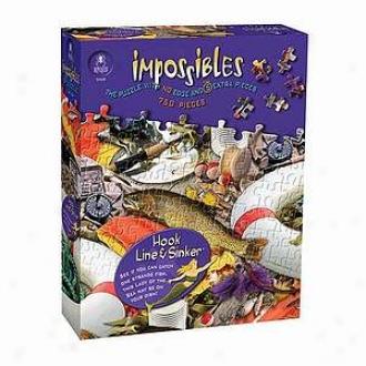 Bepuzzled Impossibles Puzzle Hom, Line & Sijker Ages 10+