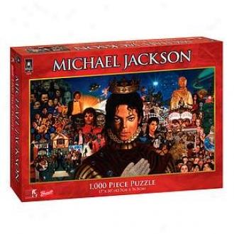 Bepuzzled Michael Jackson Album Puzzle 1000 Pcs Agss 14+