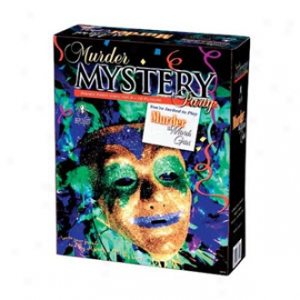 Bepuzzled Murder At Mardi Gras Mystery Party Game Ages 16+
