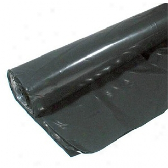 Berry Plastics 16' X 50' 6 Ml Tyco Polyethylene Black Plastic Sheeting
