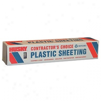 Bery Plastics 20' X 100' 4 Ml Tyco Polyethylene Clear Plastic Sheeting