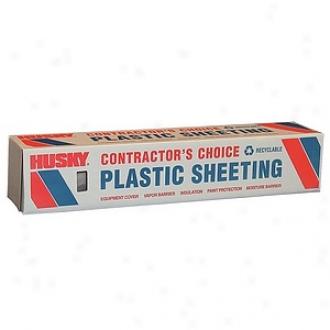 Berry Plastics 24' X 100' 6 Ml Tuco Polyethylene Net Plastic Sheeting